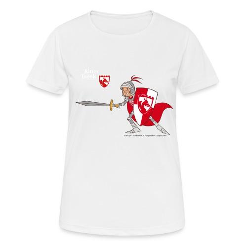 Ritter Trenk in Rüstung - Frauen T-Shirt atmungsaktiv