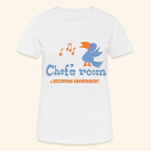chefs room - naisten tekninen t-paita