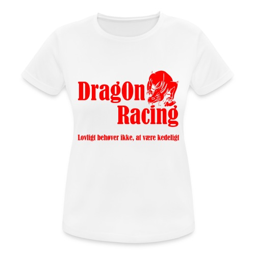 DragOn Racing - Dame T-shirt svedtransporterende