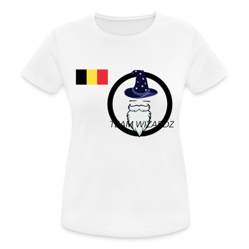 TW logo BE - Women's Breathable T-Shirt