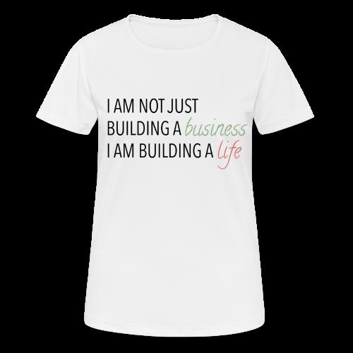 Bulding a business - vrouwen T-shirt ademend
