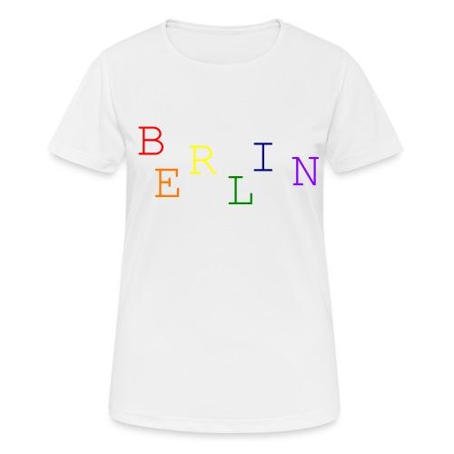 Berlin Rainbow #1 - Frauen T-Shirt atmungsaktiv