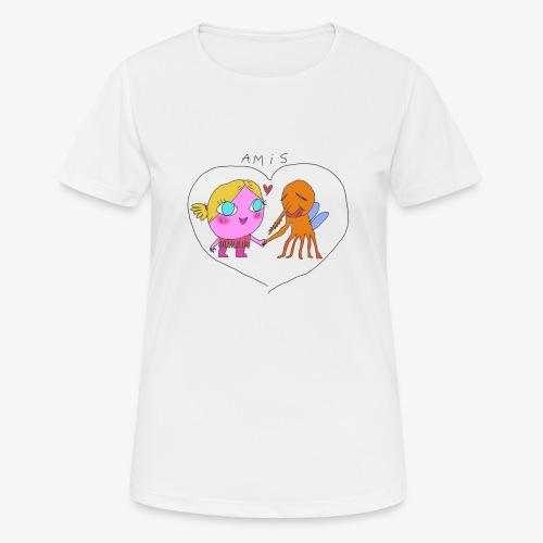 les meilleurs amis - T-shirt respirant Femme