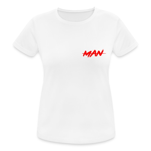 staceyman red design - Women's Breathable T-Shirt