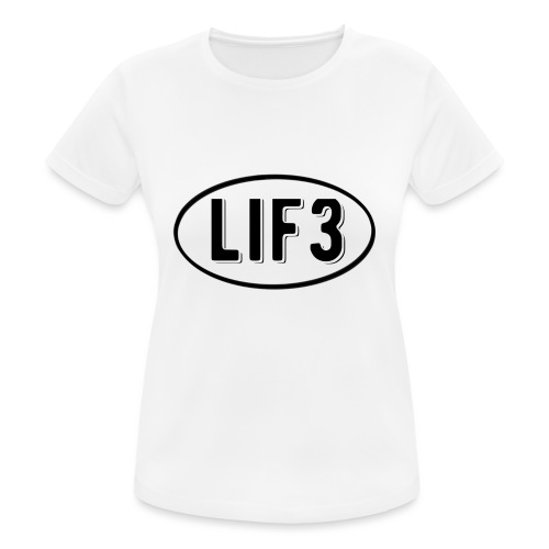 Lif3 gear - Women's Breathable T-Shirt