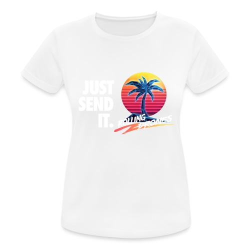 Just Send It @ RollingDrones - Women's Breathable T-Shirt