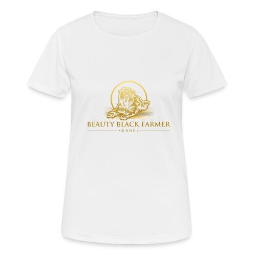 Beauty Black Farmer - Frauen T-Shirt atmungsaktiv