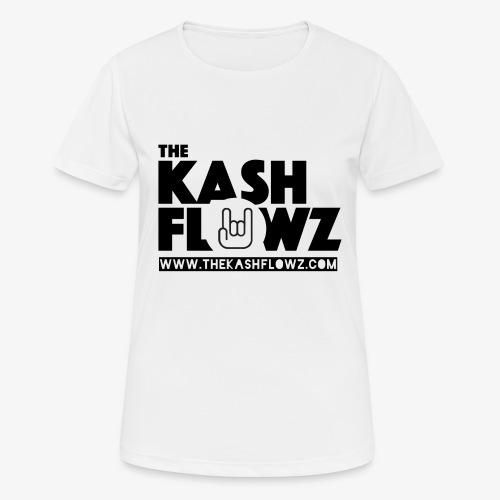 The Kash Flowz Official Web Site Black - T-shirt respirant Femme