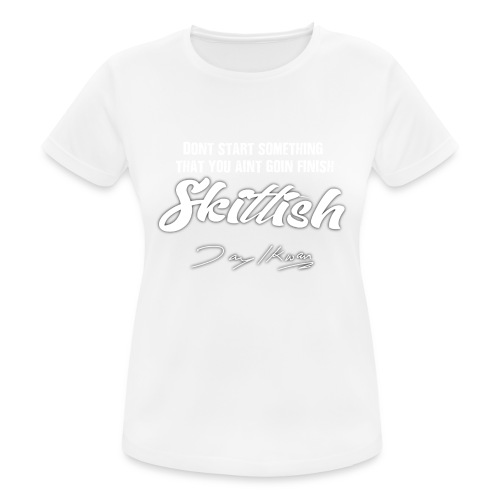Jay Ikwan Skittish - Women's Breathable T-Shirt