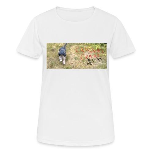 catssin's craat - Koszulka damska oddychająca