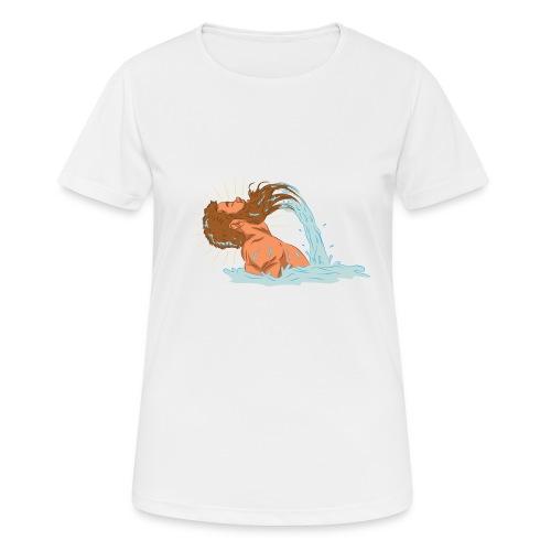 Bart Welle - lustiges Geschenk für Männer mit Bart - Frauen T-Shirt atmungsaktiv