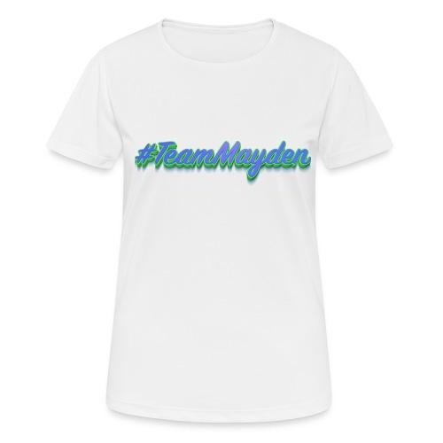 #TeamMayden - Camiseta mujer transpirable