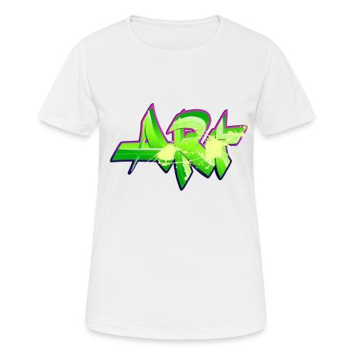 old school hip hop breakdance 17 - Andningsaktiv T-shirt dam