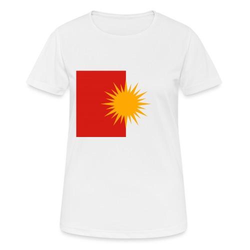 Yeziden T-Shirt Ezidi,Shingal,Şingal - Frauen T-Shirt atmungsaktiv