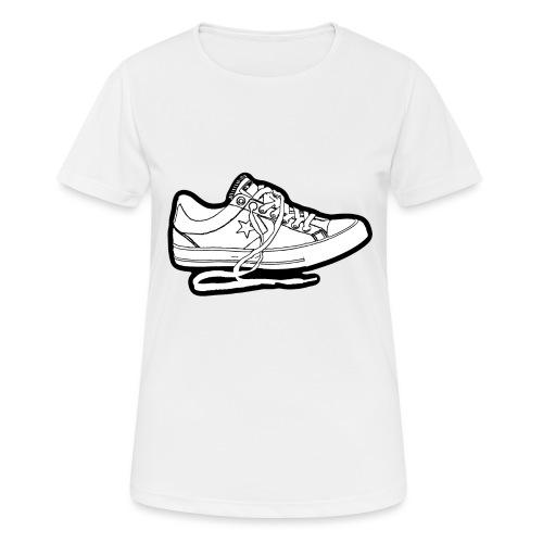 sneaker1 - Andningsaktiv T-shirt dam
