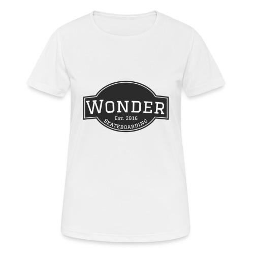 Wonder T-shirt - ol' small logo - Dame T-shirt svedtransporterende