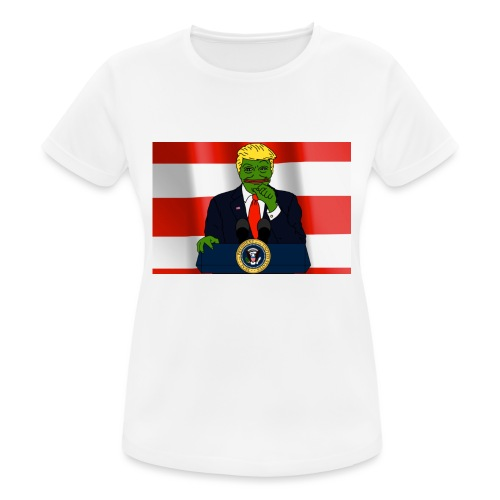 Pepe Trump - Women's Breathable T-Shirt