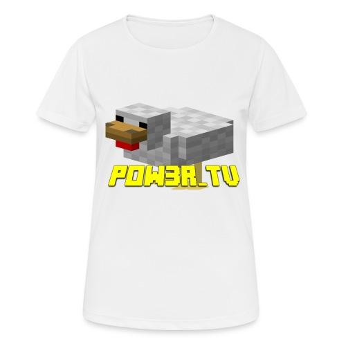 POW3R - Maglietta da donna traspirante