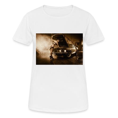 US Cars und Pinup-Girl Part II - Frauen T-Shirt atmungsaktiv