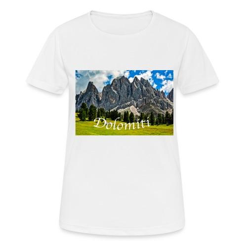 Naturpark Puez Geisler - Frauen T-Shirt atmungsaktiv