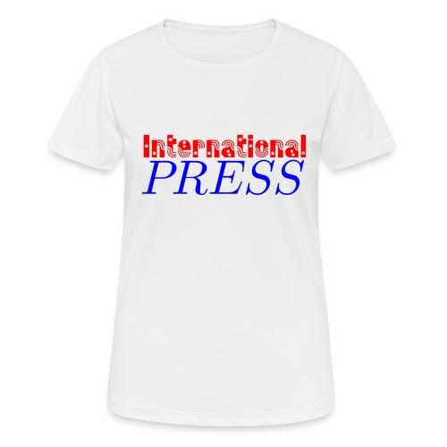 int_press-png - Maglietta da donna traspirante