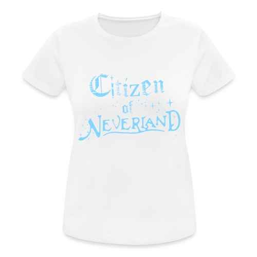 Citizen_blue 02 - Women's Breathable T-Shirt