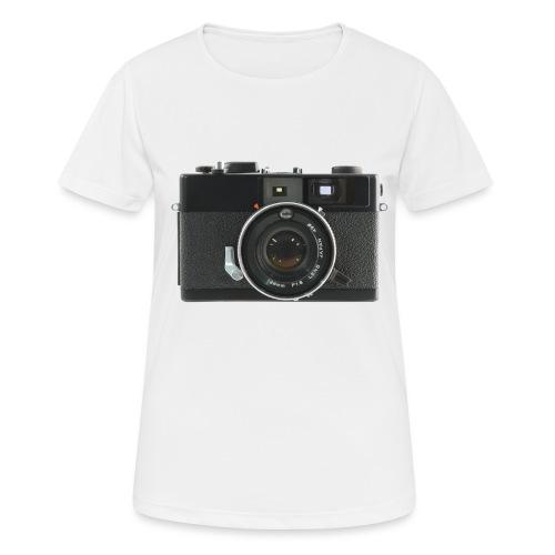 Vintage Camera Auto S3 - Maglietta da donna traspirante