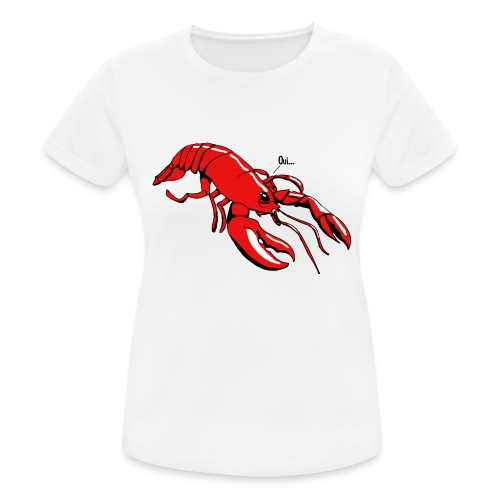 Lobster - Women's Breathable T-Shirt