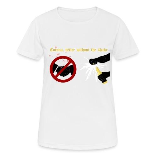 corona - Andningsaktiv T-shirt dam