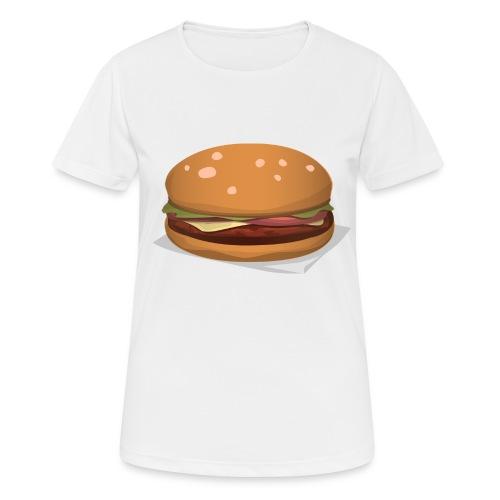 hamburger-576419 - Maglietta da donna traspirante