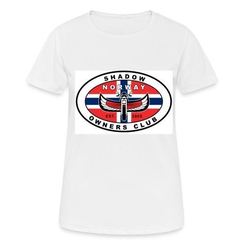 SHOC Norway Patch jpg - Pustende T-skjorte for kvinner