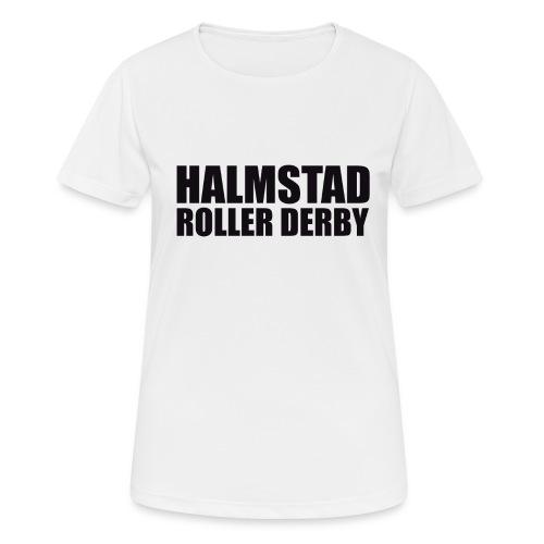 textlogga L - Andningsaktiv T-shirt dam
