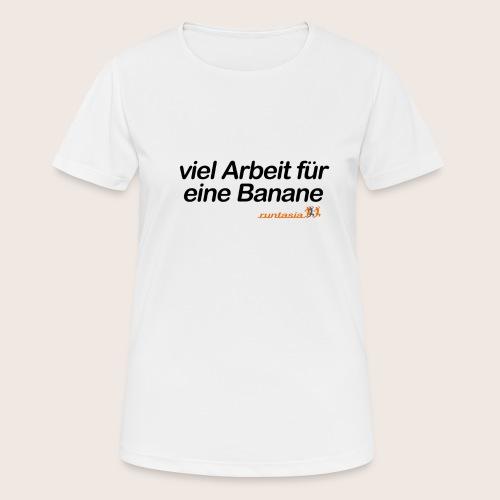 Banane - Frauen T-Shirt atmungsaktiv