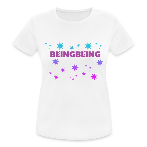 blingbling nixplemplem - Frauen T-Shirt atmungsaktiv
