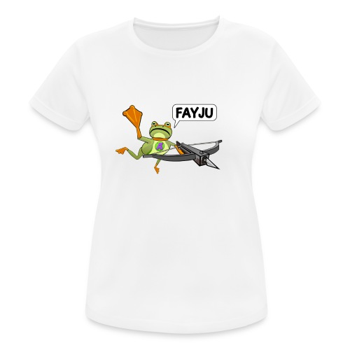 Amazing Frog Crossbow - Women's Breathable T-Shirt