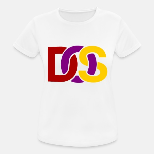 Retro MS DOS Logo - Women's Breathable T-Shirt