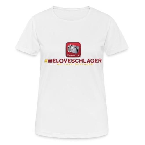 WeLoveSchlager de - Frauen T-Shirt atmungsaktiv