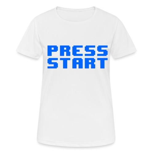 Press Start - Maglietta da donna traspirante