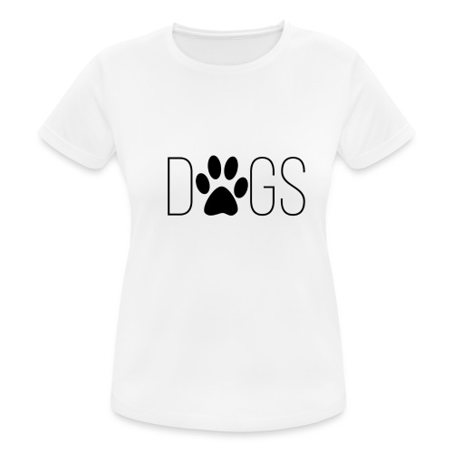 dogs - vrouwen T-shirt ademend