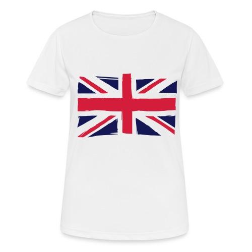 vlag engeland - Vrouwen T-shirt ademend actief