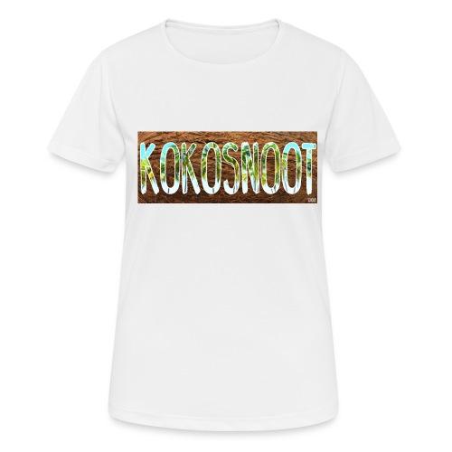 Kokosnoot - Vrouwen T-shirt ademend actief