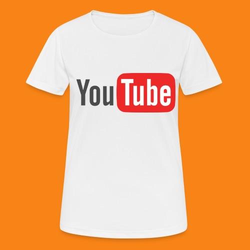 Youtube-logo-2014 - Camiseta mujer transpirable