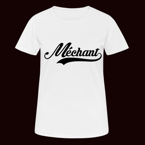mechant_logo - T-shirt respirant Femme