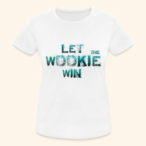 Let The Wookie Win, design 2. - Dame T-shirt svedtransporterende