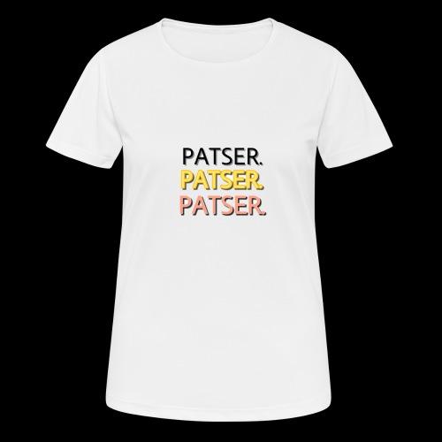 PATSER GOUD - Vrouwen T-shirt ademend actief