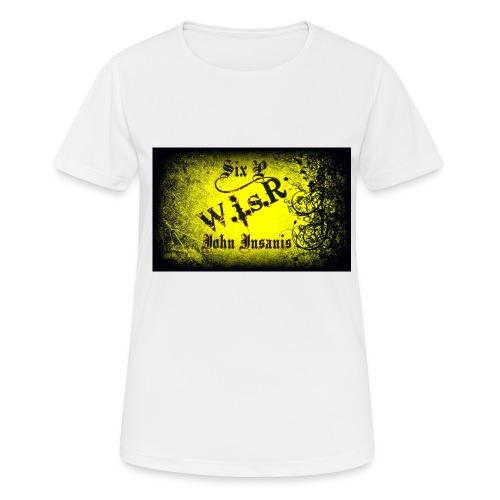 Six P & John Insanis Treenikassi - naisten tekninen t-paita