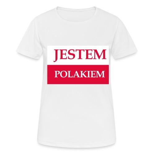 Jestem Polakiem - Koszulka damska oddychająca