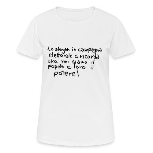 lo_sloganVERO - Maglietta da donna traspirante