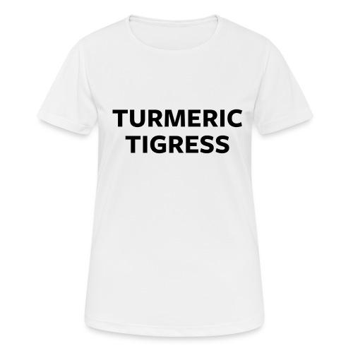Turmeric Tigress - Women's Breathable T-Shirt