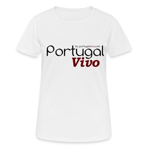 Portugal Vivo - T-shirt respirant Femme